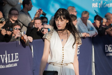 Astrid Berges Frisbey 43rd Deauville American Film Festival : Opening Ceremony