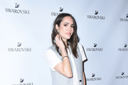 Louise Roe attends Atelier Swarovski and Louise Roe Celebrate Awards Season At the Grove on February 22, 2017 in Los Angeles, California.
