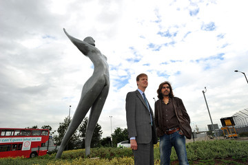 Stephen Timms Athena, The UK's Tallest Bronze Sculpture Is Installed At London City Airport