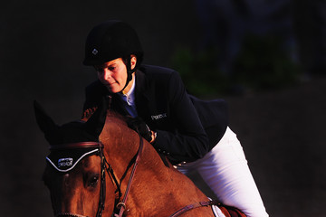 Athina Onassis De Miranda Longines Global Champions Tour of London: Day 2