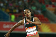 Rellie Kaputin competes in the Women's Triple Jump final during the Athletics on day six of the Gold Coast 2018 Commonwealth Games at Carrara Stadium on April 10, 2018 on the Gold Coast, Australia.