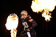 Jimmy Graham #80 of the New Orleans Saints takes the field prior to a game against the Atlanta Falcons at the Mercedes-Benz Superdome on December 21, 2014 in New Orleans, Louisiana.