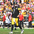 Ben Roethlisberger Photos - Ben Roethlisberger #7 of the Pittsburgh Steelers walks off the field after throwing an interception in the first half during the game against the Atlanta Falcons at Heinz Field on October 7, 2018 in Pittsburgh, Pennsylvania. - Atlanta Falcons vs. Pittsburgh Steelers