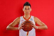 Jeremy Lin #7 of the Atlanta Hawks poses for portraits during media day at Emory Sports Medicine Complex on September 24, 2018 in Atlanta, Georgia.