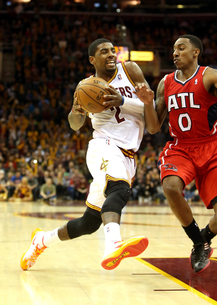 ... nike zoom hyperrev; jeff teague and kyrie irving photos photos atlanta  hawks v cleveland cavaliers zimbio ...