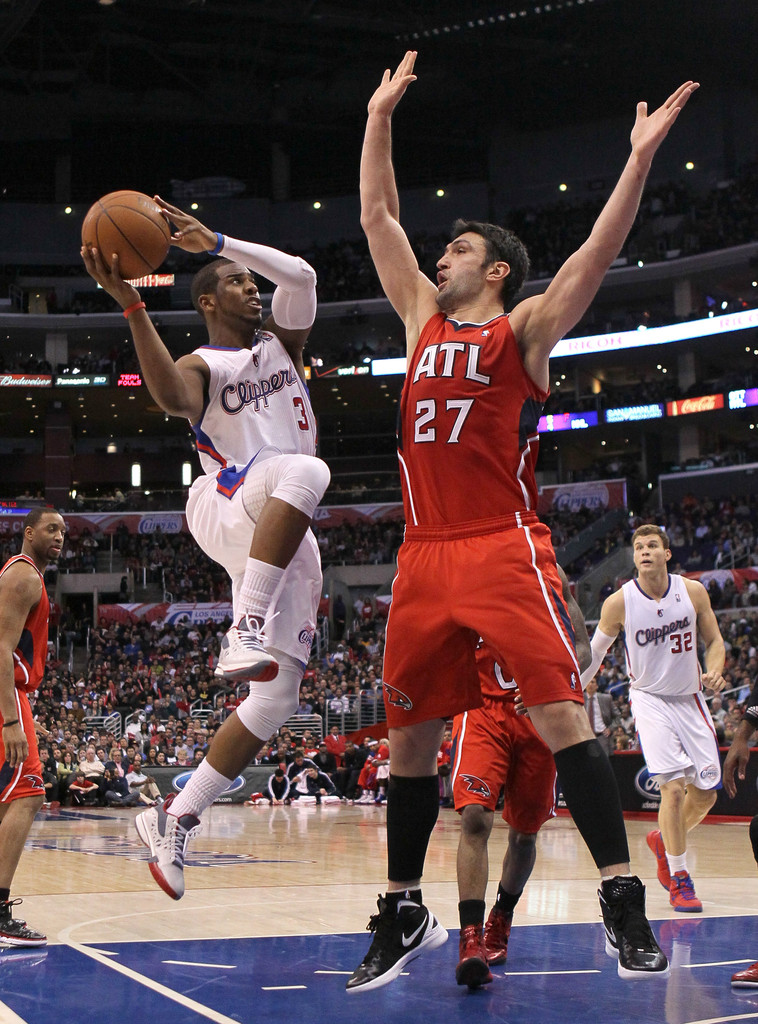 Chris Paul Hawks Chris Paul and ...