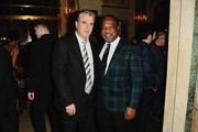 Actors Chris Noth and Isiah Whitlock Jr. attends the Atlantic Theater Company 2019 Gala at The Plaza on March 04, 2019 in New York City.