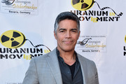 "Actor Esai Morales attends the Atomic Age Cinema Fest Premiere of ""The Man Who Saved The World"" at Raleigh Studios on April 27, 2016 in Los Angeles, California."