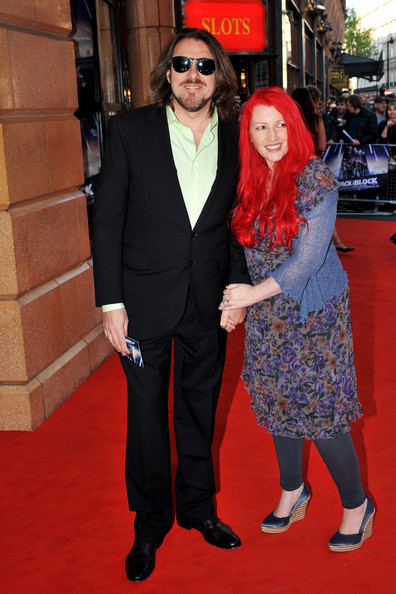 Happily married husband and wife: Jonathan Ross and Jane Goldman