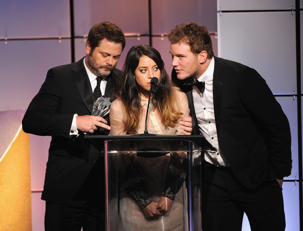 The Parks and Rec Cast Talks 100 Episodes, Favorite Small Towns ...