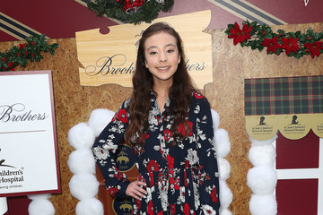 Aubrey Anderson-Emmons Brooks Brothers Hosts Annual Holiday Celebration In Los Angeles To Benefit St. Jude - Arrivals