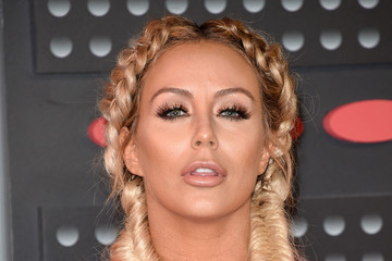 Aubrey O'Day 2015 MTV Video Music Awards - Arrivals