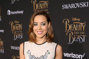 Aubrey Plaza The World Premiere Of Disney's Live-Action 'Beauty And The Beast'