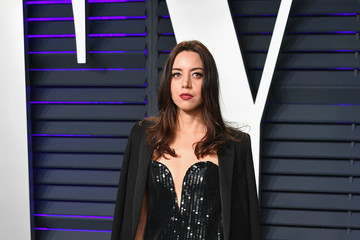 Aubrey Plaza 2019 Vanity Fair Oscar Party Hosted By Radhika Jones - Arrivals