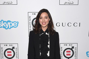Aubrey Plaza Equality Now's Make Equality Reality Event - Arrivals