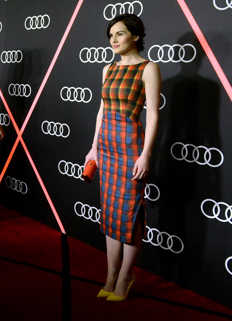 Actress Michelle Dockery attends Golden Globes Weekend Audi Celebration at Cecconi's on January 9, 2014 in Beverly Hills, California.