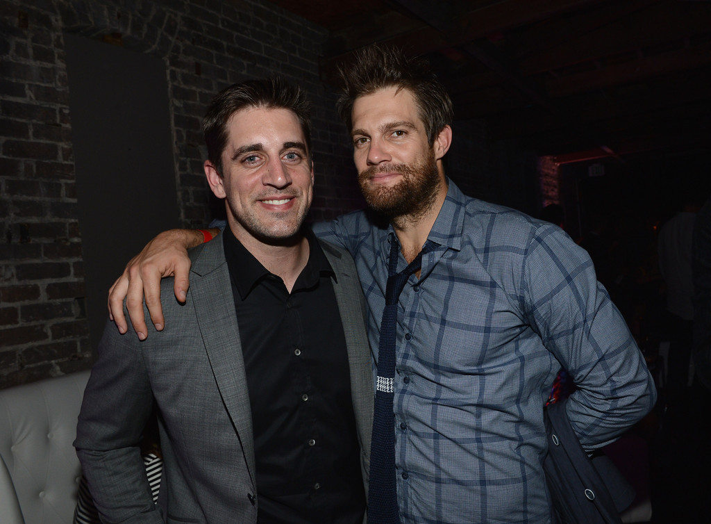 Aaron Rodgers Photos Photos - Audi Celebrates Super Bowl ...