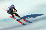 Tessa Worley of France in action during the Audi FIS Alpine Ski World Cup Women's Downhill Training on December 15, 2016 in Val-d'Isere, France