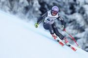 Tessa Worley of France in action during the Audi FIS Alpine Ski World Cup Women's Downhill Training on January 20, 2017 in Garmisch-Partenkirchen, Germany