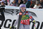 Tessa Worley of France takes 2nd place during the Audi FIS Alpine Ski World Cup Women's Giant Slalom on October 28, 2017 in Soelden, Austria.