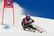 Tessa Worley of France competes during the Audi FIS Alpine Ski World Cup Women's Giant Slalom on January 24, 2017 in Kronplatz, Italy