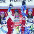 Wendy Holdener Petra Vlhova Photos - (FRANCE OUT) Frida Hansdotter of Sweden takes 1st place, Wendy Holdener of Switzerland takes 2nd place, Petra Vlhova of Slovakia takes 3rd place during the Audi FIS Alpine Ski World Cup Women's Slalom on December 29, 2015 in Lienz, Austria. - Audi FIS Alpine Ski World Cup - Women's Slalom