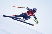 Tessa Worley of France in action during the Audi FIS Alpine Ski World Cup Women's Super-G on December 18, 2016 in Val-d'Isere, France