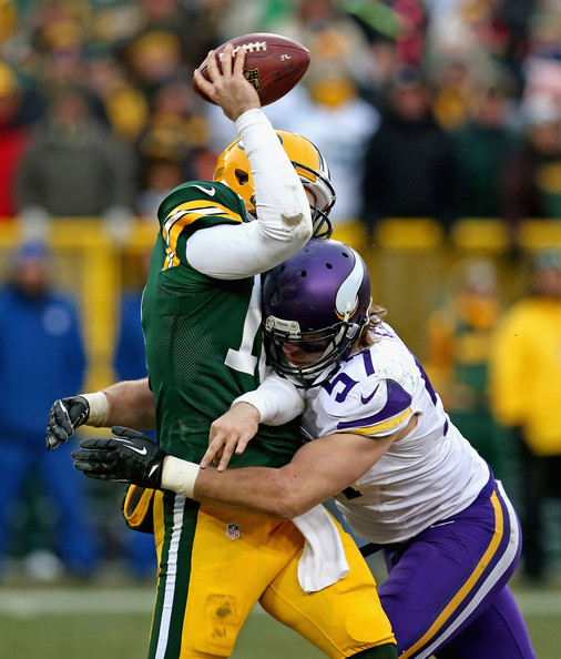Audie Cole Photos Minnesota Vikings V Green Bay Packers Of - Audie cole