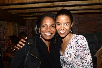 Audra McDonald Celebrities Attend Broadway's 'Hamilton'