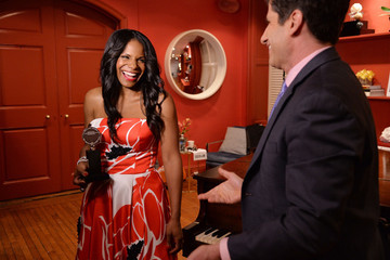 Audra McDonald Winners' Room at the Tony Awards