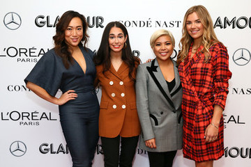 Audrey Gelman Sutian Dong 2018 Glamour Women Of The Year Summit:  Women Rise