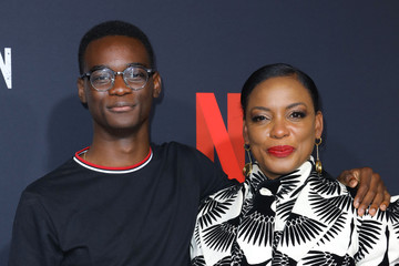 Aunjanue Ellis Ethan Herisse FYC Event For Netflix's 'When They See Us' - Arrivals