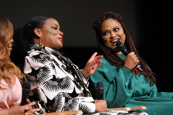 FYC Event For Netflix's 'When They See Us' - Panel [performance,event,fashion,adaptation,talent show,fashion design,singer,performing arts,conversation,aunjanue ellis,ava duvernay,when they see us,lot,fyc,netflix,panel,l,paramount studios,event]