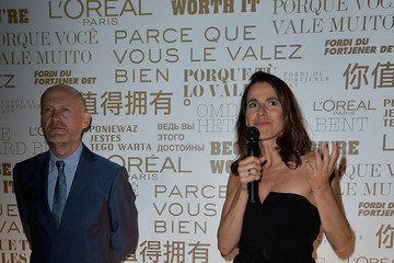 Aurelie Filippetti L'Oreal & Unifrance Films 65th Anniversary Cocktail