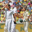 Kevin Pietersen and Alastair Cook Photos