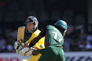 Ricky Ponting of Australia paddles fine for four past Maurice Ouma of Kenya during the 2011 ICC World Cup Group A match between Australia and Kenya at M. Chinnaswamy Stadium on March 13, 2011 in Bangalore, India.