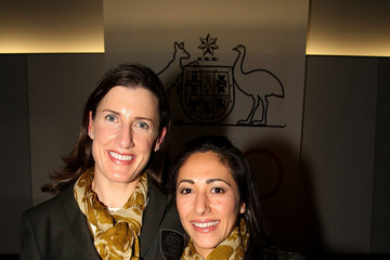 Jacqui Cooper Australian Olympic Committee Hosts Cocktail Party For Returned Athletes