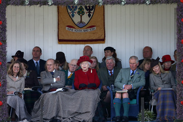 Autumn Phillips The 2015 Braemar Highland Gathering