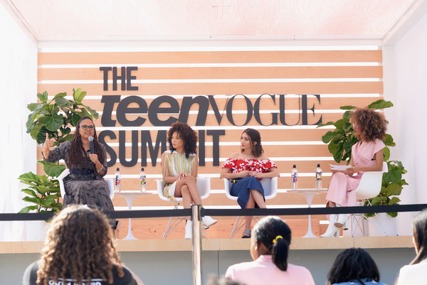 The Teen Vogue Summit LA: Keynote Conversation With 'A Wrinkle In Time' Director Ava Duvernay and Actresses Rowan Blanchard and Storm Reid