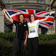 Dame Kelly Holmes and Laura Weightman