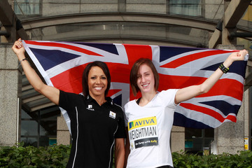 Dame Kelly Holmes Laura Weightman Aviva - On Camp with Kelly Media Day