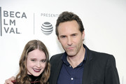 Best Actors Nadia Alexander and Alessandro Nivola attend Awards Night during the 2017 Tribeca Film Festival at BMCC Tribeca PAC on April 27, 2017 in New York City.