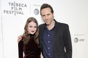 Actors Nadia Alexander and Alessandro Nivola attend Awards Night during the 2017 Tribeca Film Festival at BMCC Tribeca PAC on April 27, 2017 in New York City.