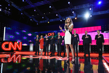 Ayla Brown GOP Presidential Candidates Debate in Las Vegas