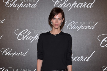 Aymeline Valade Chopard Trophy Photocall - The 70th Annual Cannes Film Festival