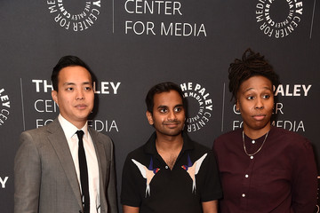 Aziz Ansari The Paley Center For Media Presents: 'Master of None': A Conversation With Aziz Ansari and Alan Yang