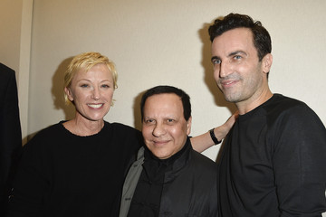 Azzedine Alaia Backstage at the Louis Vuitton Show