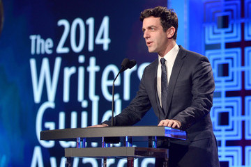 B.J. Novak 2014 Writers Guild Awards L.A. Ceremony - Inside