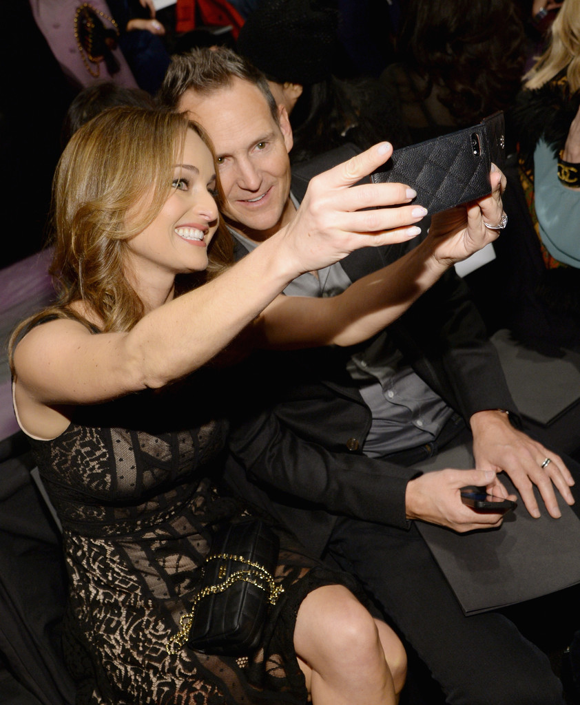 Giada De Laurentiis Todd Thompson Todd Thompson Photos Front Row At The Bcbgmaxazria Show Zimbio