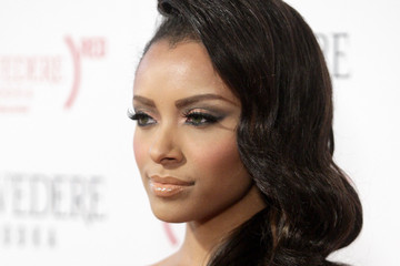 Kat Graham (BELVEDERE) RED Launches With Usher - Red Carpet